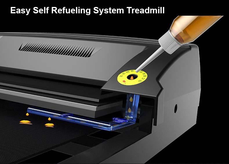 Treadmill System Lubrication